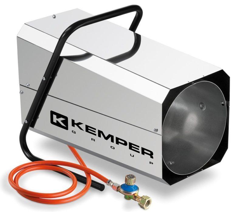 Générateur à air chaud inox à gaz