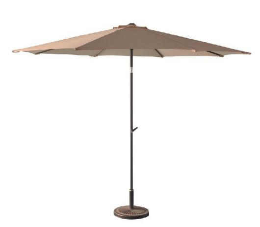 Parasol avec pied - Diamètres : 2,5m, 3m